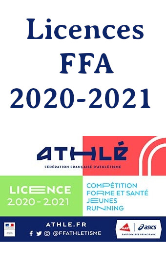 Inscriptions Licences 2020 - 2021